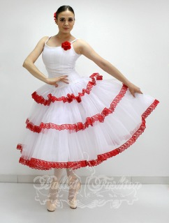 Costume/dress/tutus Spanish dress R0157 for Ballet school or stage costume for Costumes for women